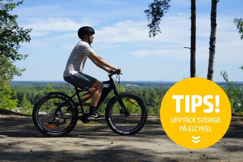 7 platser att besöka i Sverige med elcykel