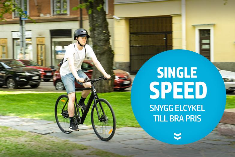 5 skäl att välja single speed elcykel