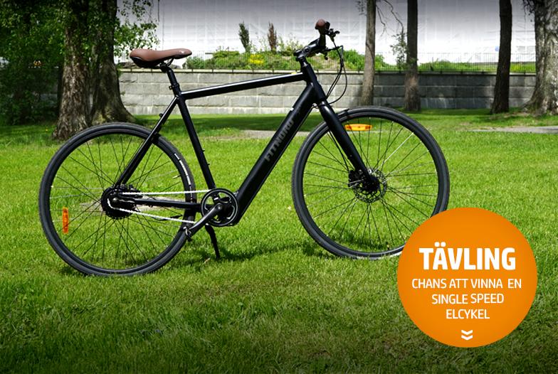 Tävla om en Single Speed elcykel!
