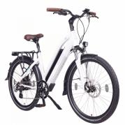 Elcykel NCM Milano, vit (624 Wh högeffektsbatteri)