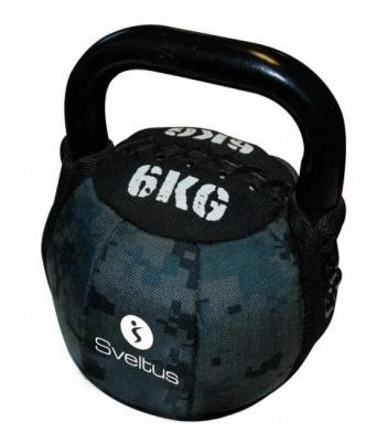 Sveltus Kettlebell Soft, 6 kg