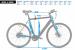 FitNord Agile+ Single Speed Elcykel (380 Wh batteri)