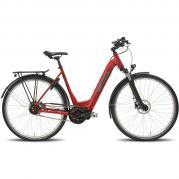 Elcykel/stadscykel Helkama CE5 Di2 (504 Wh batteri), röd