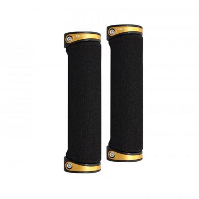 CRANKBROTHERS Cobalt grips Handtag 130 mm Black/Gold