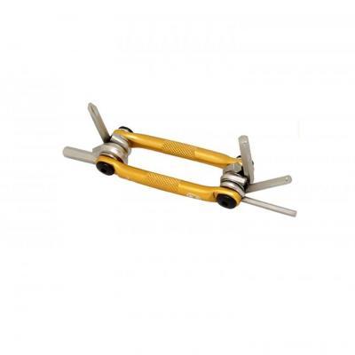 Crankbrothers M5 Multiverktyg, guld