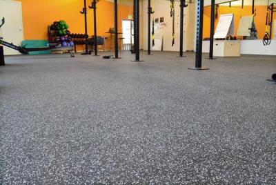 Gummimatta för gym 8 mm (1,25 m x 1,0 m), Regupol Everroll Classic