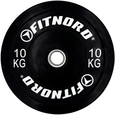 FitNord Bumper Plate 10 kg