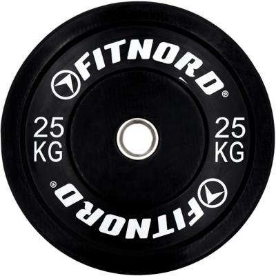 Viktskiva 25 kg, Bumper Plate, FitNord