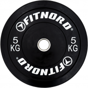 Skivstångspaket Bumper 50 kg, FitNord