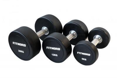 FitNord Diamond PU Hantlar 16 kg (par)