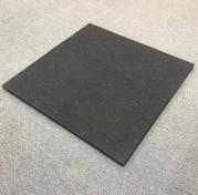 Gummiplatta för tyngdlyftningsområden 30 mm (1 x 1 m), FitNord