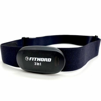 FitNord 3 in 1 Pulsband (Bluetooth, ANT+ & 5.3 kHz)