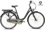 Elcykel/stadscykel Helkama CE3 (374 Wh batteri), grå