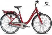 Elcykel/stadscykel Helkama CE3 (374 Wh batteri)