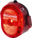 SIGMA Nugget II Flash Red Bakljus