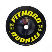 Skivstångspaket Bumper PRO 110 kg, FitNord