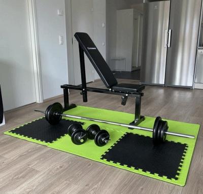 Hemmatränarens styrketräningsset 65 kg