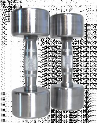 Kromiset käsipainot, PRO 5 kg (pari), FitNord