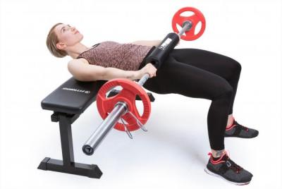 Levypaino 5 kg, FitNord Tri Grip Olympic, punainen