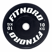 Viktskiva Bumper Plate 10 kg, FitNord