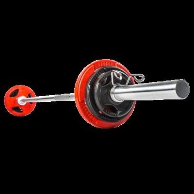 Olympia-skivstång 20 kg, max. 900 kg, FitNord