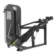 FitNord Diamond Incline Bench Press med viktmagasin