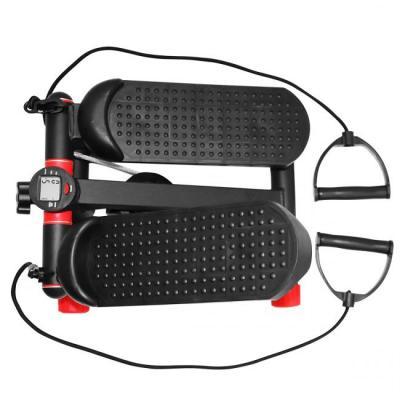 SportVida Mini Stepper med motståndsband