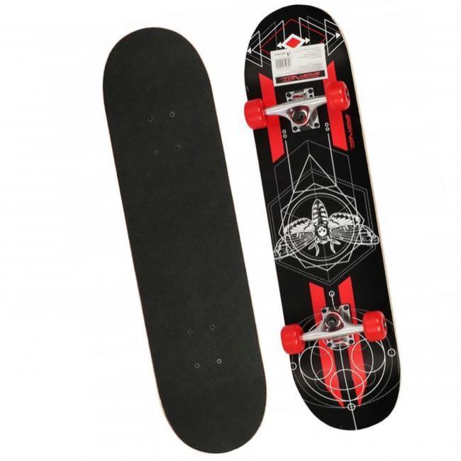SportVida DARK FLY Skateboard