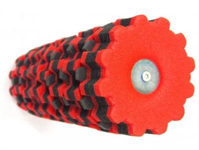 Terapirulle 14 x 38 cm, rödsvart