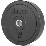 Viktskiva 20 kg, Olympic Bumper, Tiguar