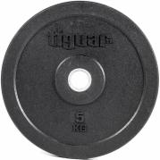 Viktskiva 5 kg, Olympic Bumper, Tiguar