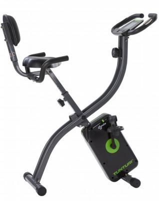 Tunturi Cardio Fit B25 kokoontaitettava kuntopyörä selkänojalla