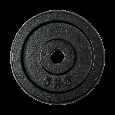 30 mm levypaino 5 kg, valurauta, FitNord